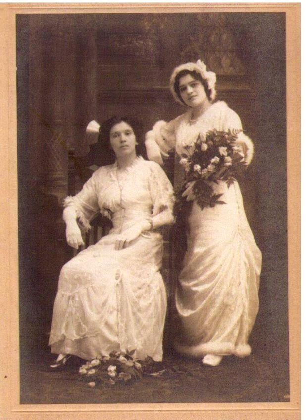 Ciotki Pana Eugeniusza: Wiktoria i Bronia, 1920